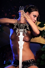 "Salma in ""Dark Elf"" at Sinful Goddesses"