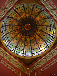 the qvb tower dome
