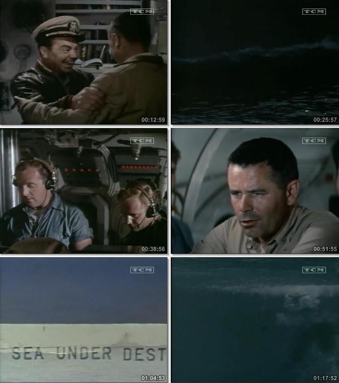 Imágenes de la película |  El último torpedo | 1958 | Torpedo Run | Capturas