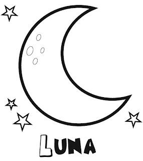 Dibujos de Lunas