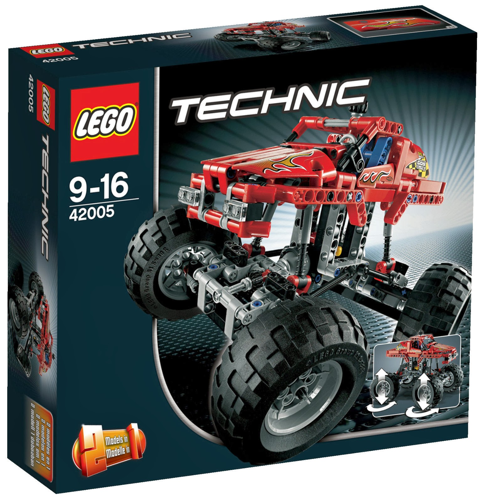 my little drummer boys lego technic monster truck. Black Bedroom Furniture Sets. Home Design Ideas