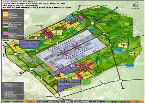 Mô hình đồ họa sân bay Long Thành - Nguồn: Báo cáo của Bộ GTVT