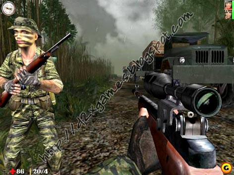 Free Download Games - Line Of Sight Vietnam