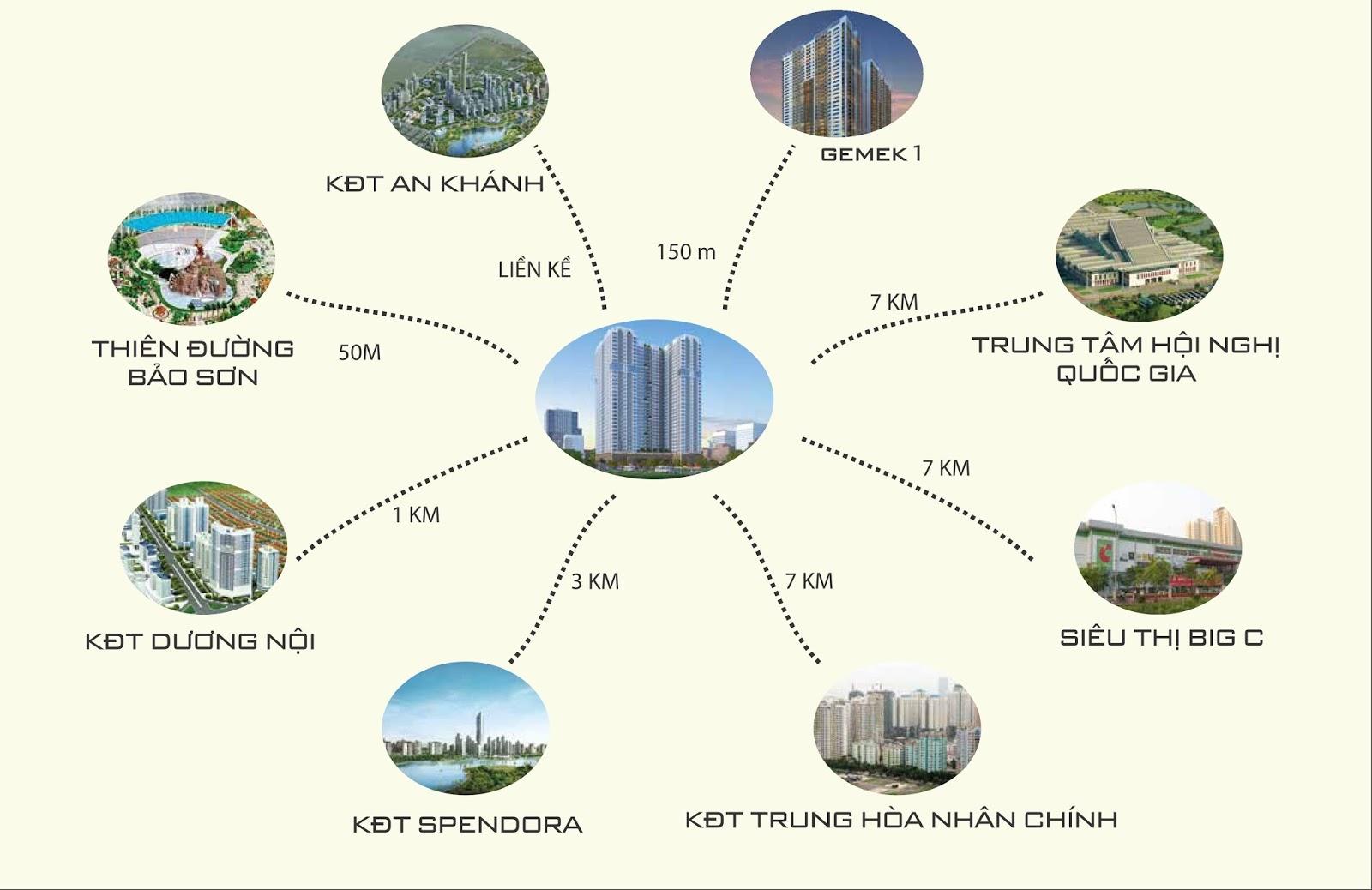 Cất nóc dự án Gemek Tower phía Tây thủ đô Hà Nội
