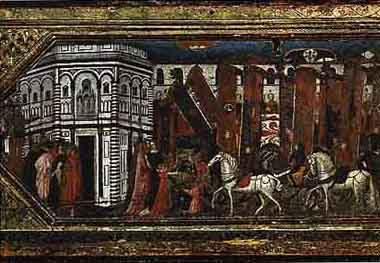 The Final And Most Public Stage Of Italian Renaissance Marriage Nozze Was Procession Bride To Groom S Household