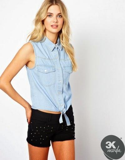 Yeni Moda Bayan Gömlek Modelleri
