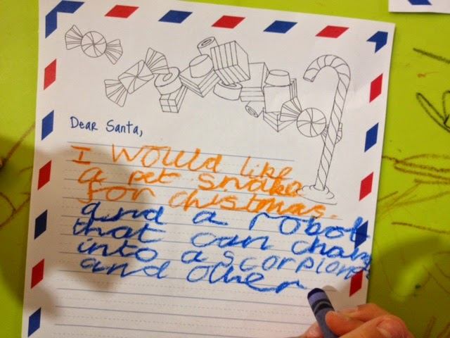 Your Cheeky Monkey Blog: Hilarious things kids ask Santa for at ...