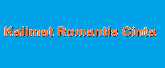 Kalimat Romantis