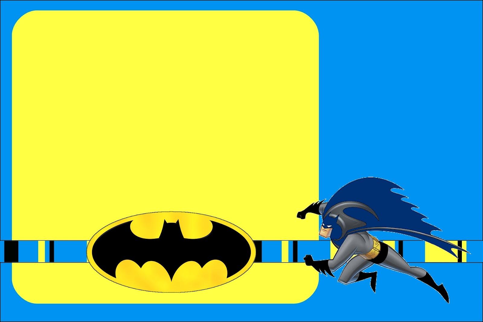 Meu convite e legal: Batman