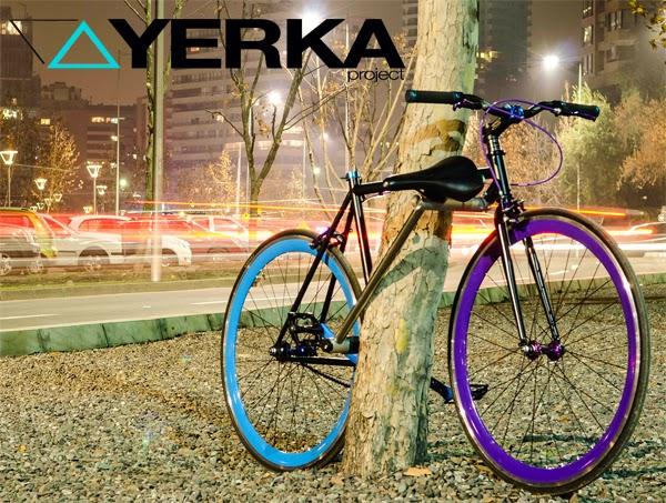 Yerka Project le vélo impossible à voler.