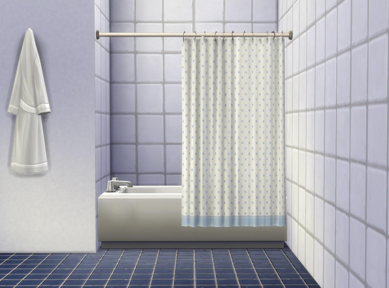 My Sims 4 Blog Bathtub Curtain By Plasticbox