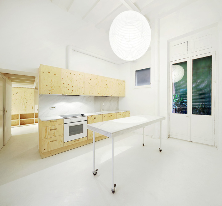 Cocina reforma vivienda en el Born. Arquitectura-G