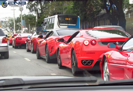 Ferrari Day in Brasil