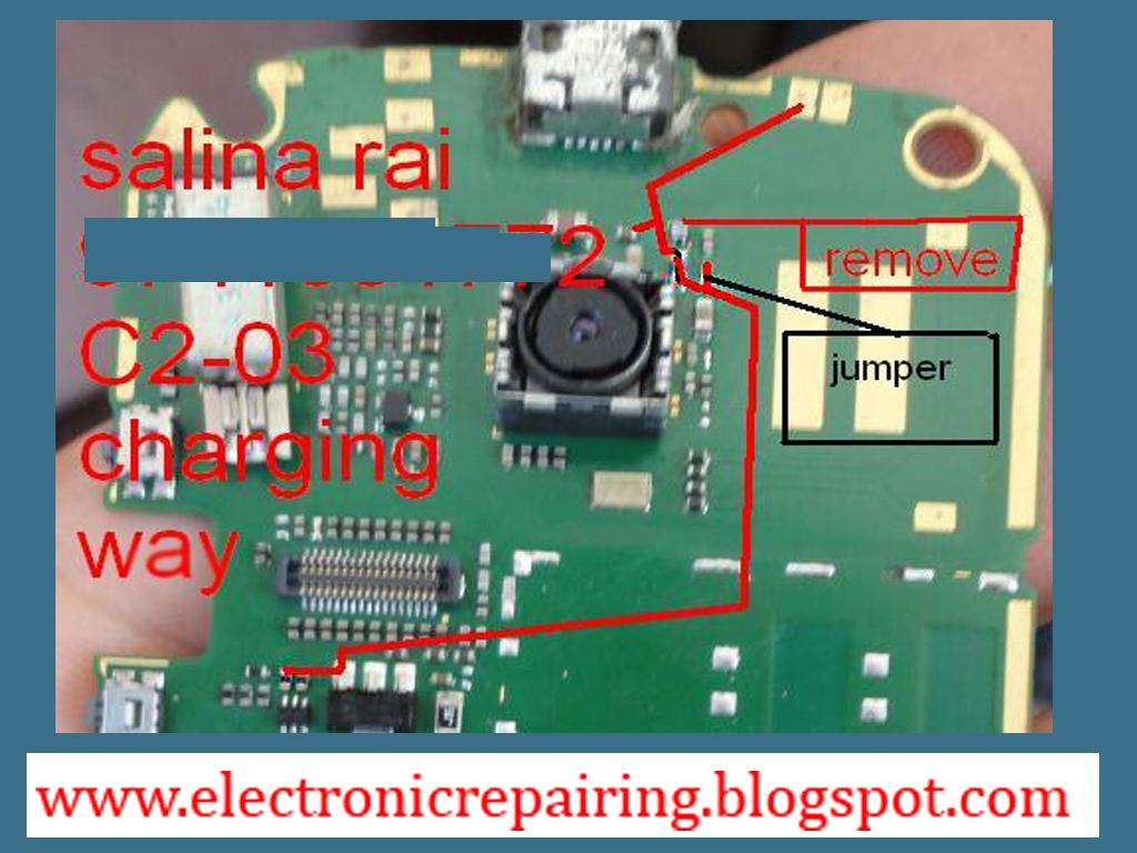 Nokia C2 03 charging ways