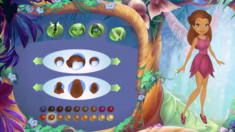 El bosque m gico de las hadas disney fairies for Crea tu mural disney