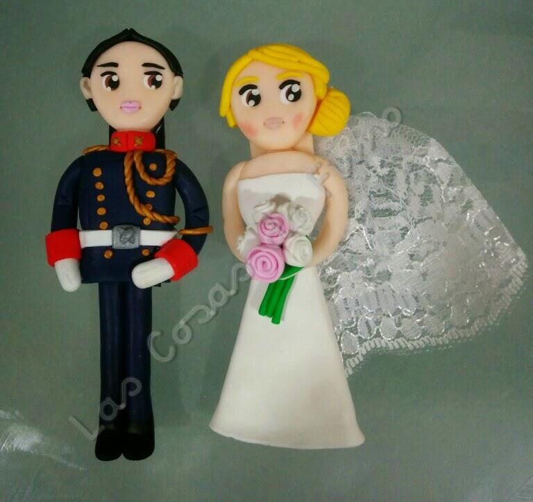 Figuras novios boda personalizables