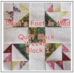 Tutorial and free quilt block pattern from The Quilt Ladies