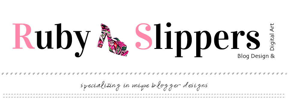 Ruby Slippers Blog Designs