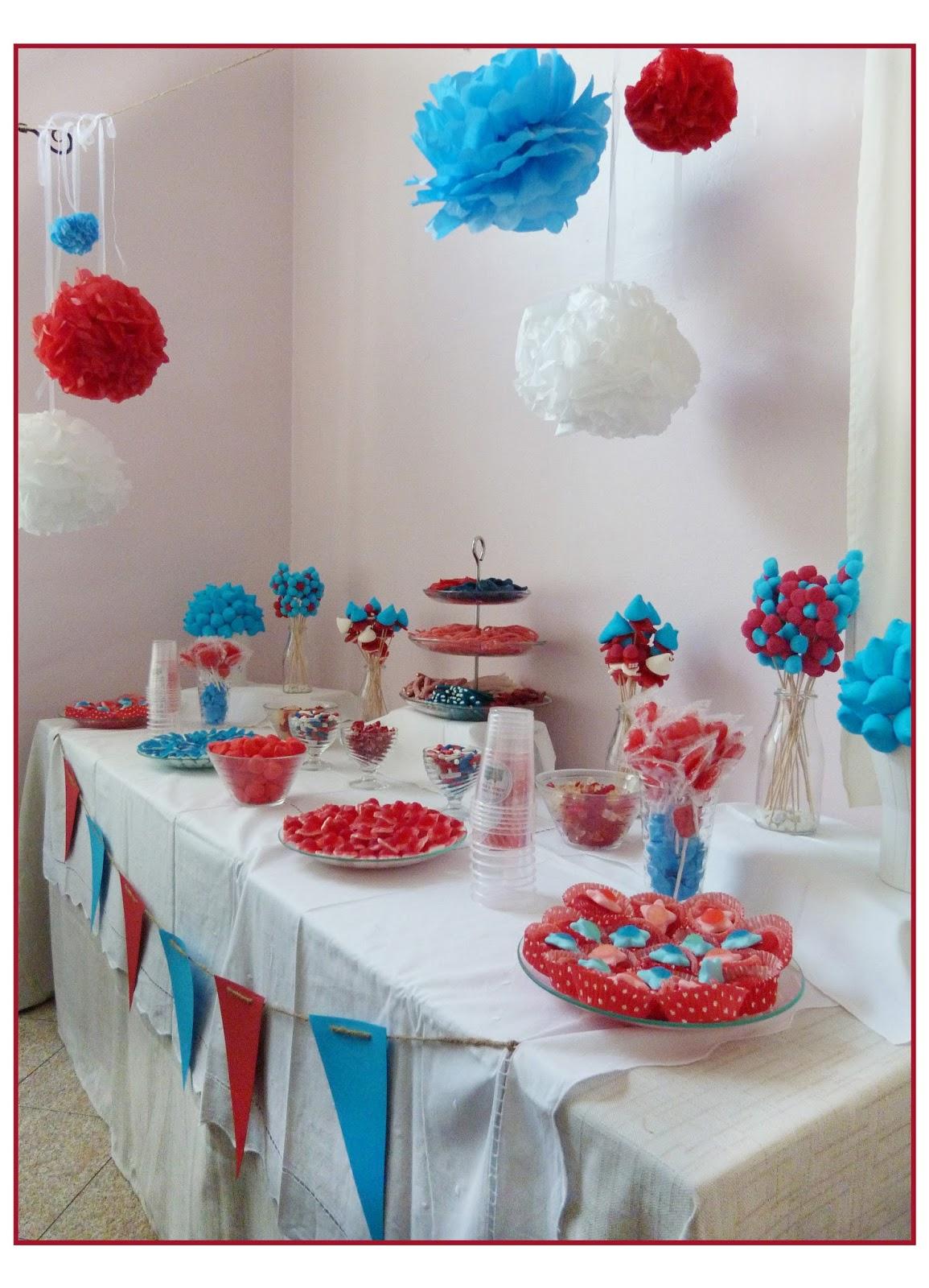 Cositas bbailon mesas tartas y brochetas de chuches - Mesas para comuniones ...