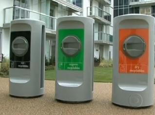 Coleta pneumática estimula a coleta seletiva e a reciclagem