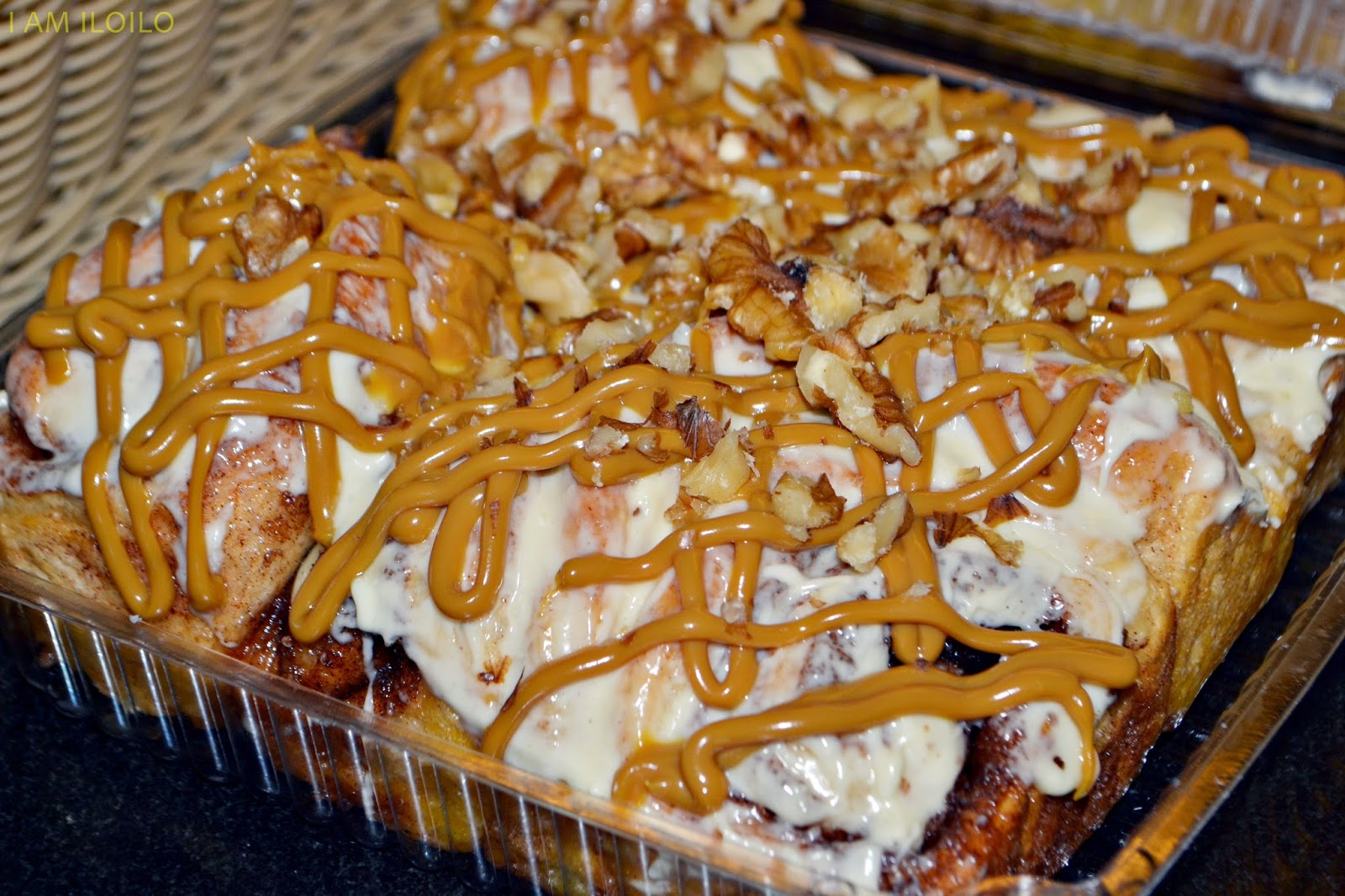 Cinnamon Walnut Dulce De Leche Bars Recipe — Dishmaps