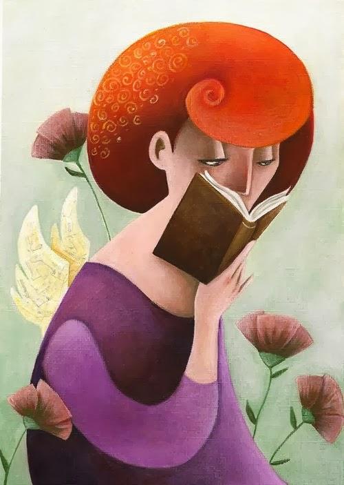 La magia de los libros Rosaria+battiloro