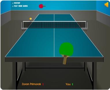 لعبة تنس الطاولة Table Tennis