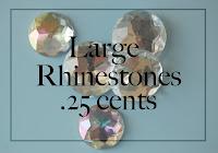 Large Rhinestones