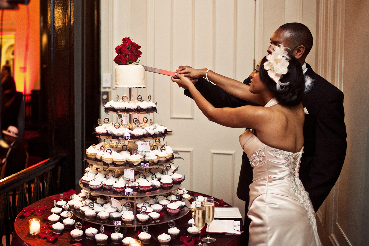 Harlem cafe wedding