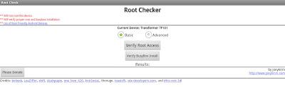 Imagen de Root Checker en Android
