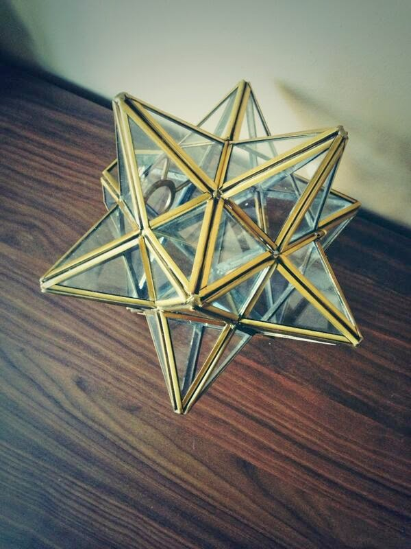 #thriftscorethursday Week 9 Features | Twitter user: Everyh0me shows off her Spiky Star Lamp