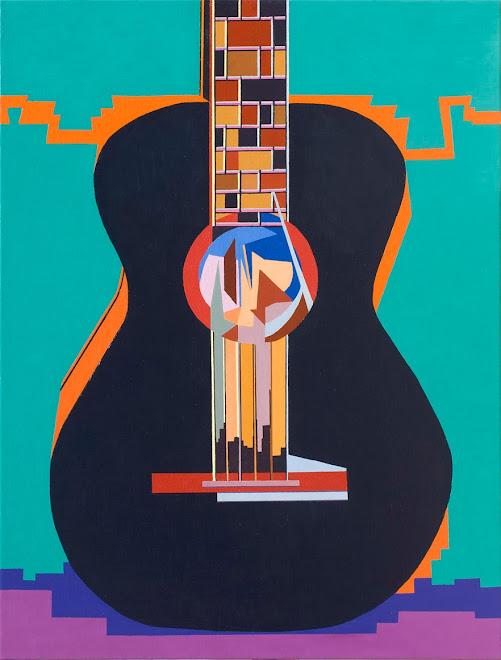 guitarra negra de la pena, el sonido de la música