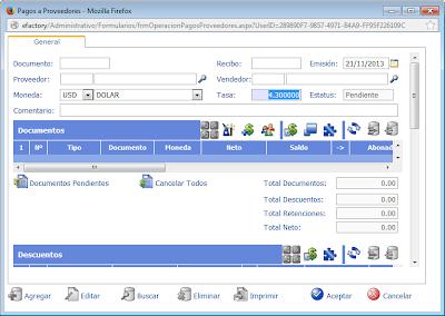 sistema administrativo web, contabilidad web venezuela, software administrativo contable