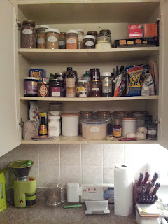 Space! Glorious space! And so many jars...
