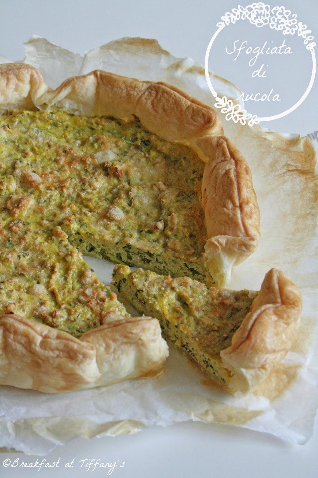 sfogliata di rucola / puff pastry tart with rocket