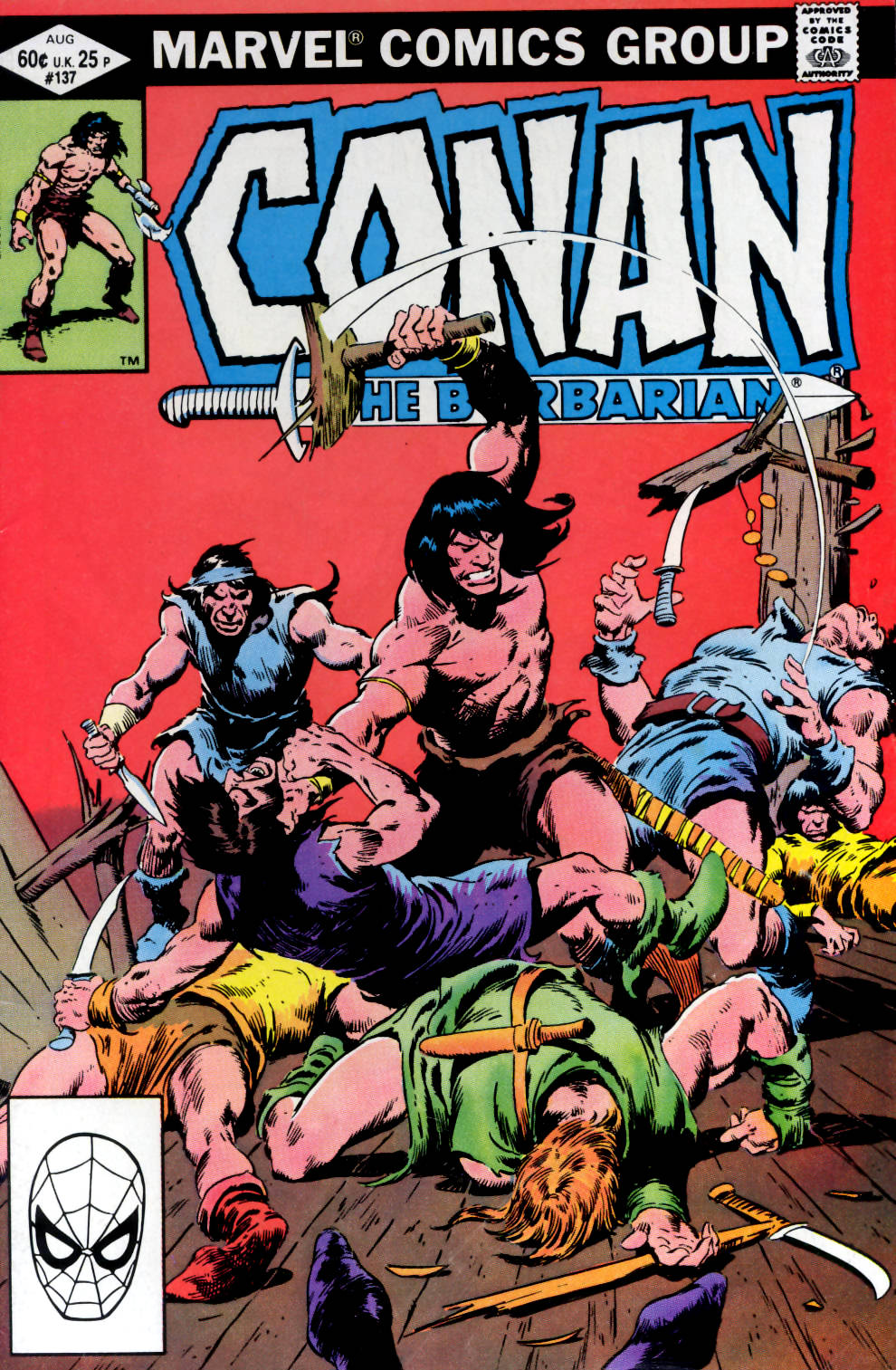 Conan the Barbarian (1970) Issue #137 #149 - English 1