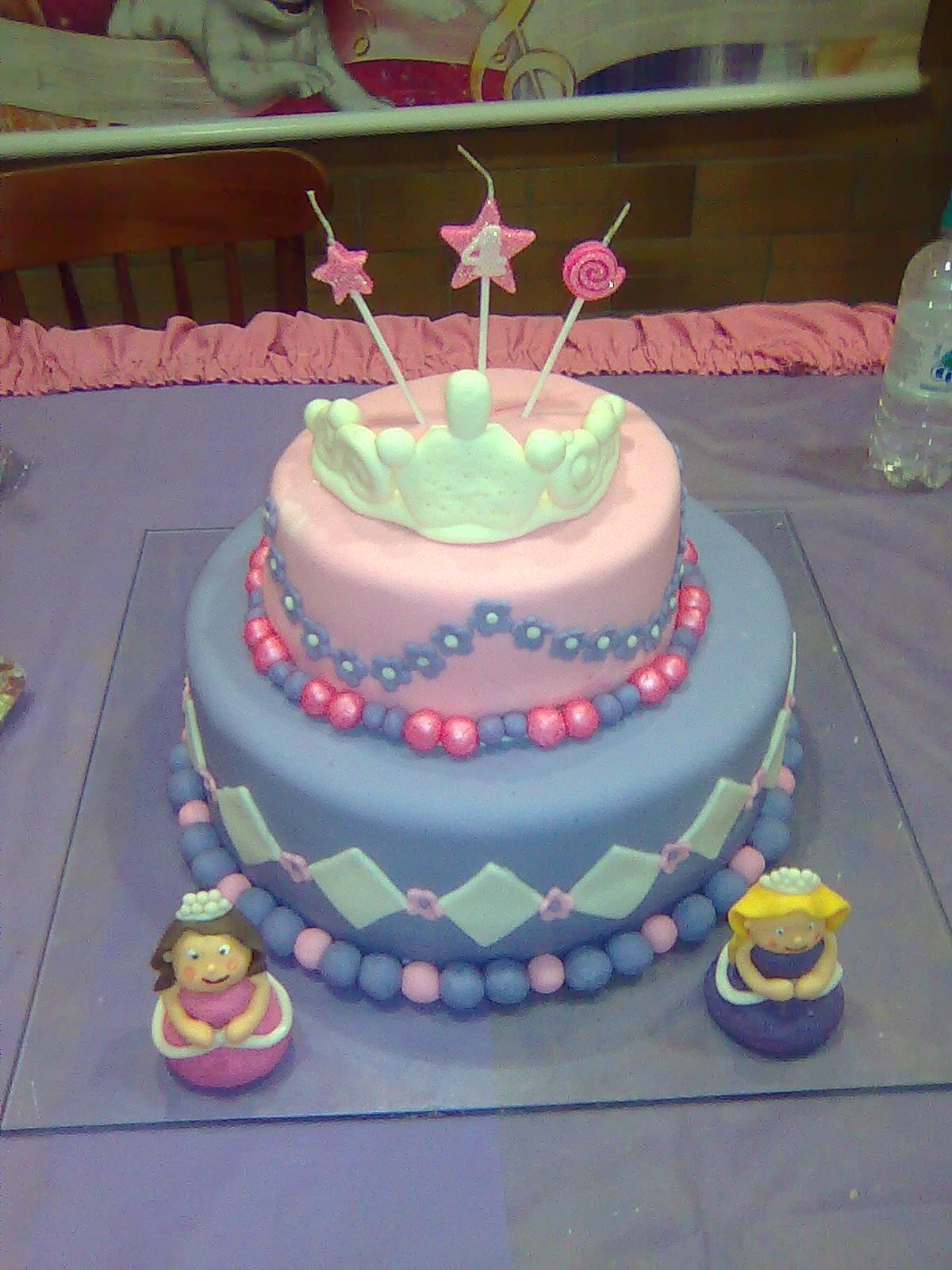 Suzy Cake Designer: bolo Barbie Castelo de diamantes