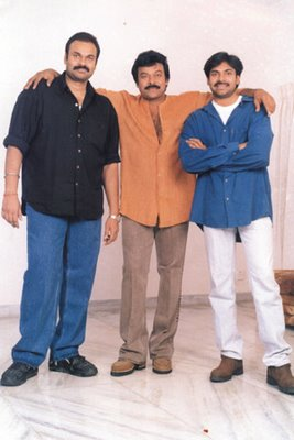 Chiranjeevi, Nagendra Babu,,Pawan Kalyan