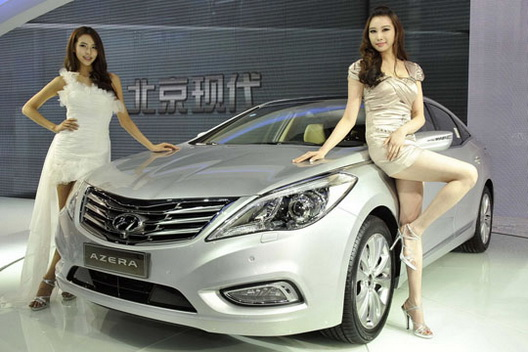 CARUSEXLUSIVE New Shanghai Auto Show Asia Girls - Asian car show girls