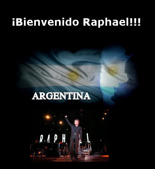 Raphael ya se encuentra en Argentina
