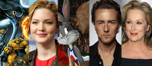 casting-news-fantastic-four-holliday-grainger-edward-norton-space-jam-meryl-streep