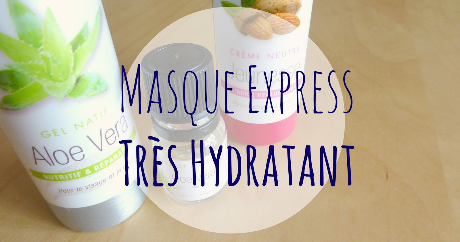 Recette Masque Hydratant repulpant Express et bio en plus