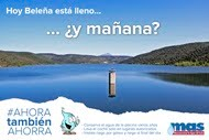 Campaña de ahorro de agua de la MAS