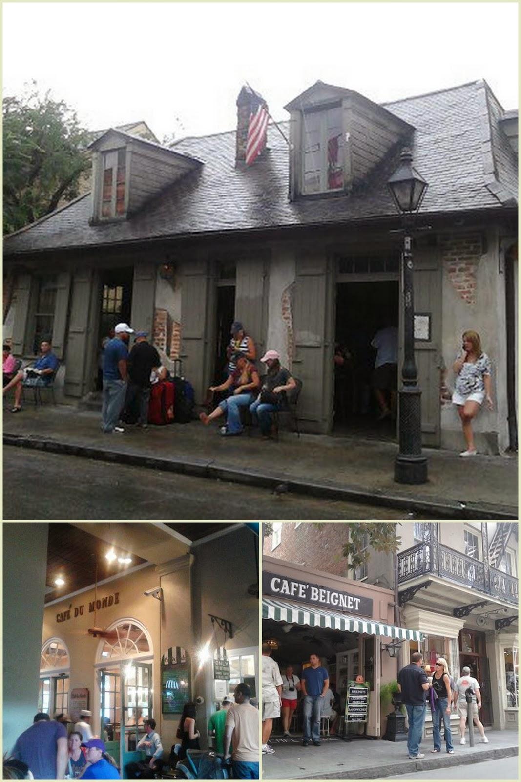 """Buñuelos Nueva Orleans Cafe du Mond"""