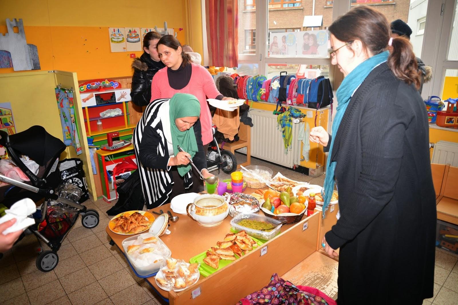 Vrije basisschool jan ruusbroec schoolblog multicultureel buffet - Buffet jaar ...