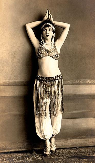 vintage dance lady