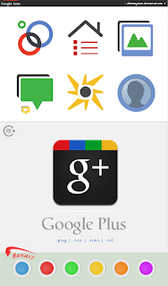 google icons plus one