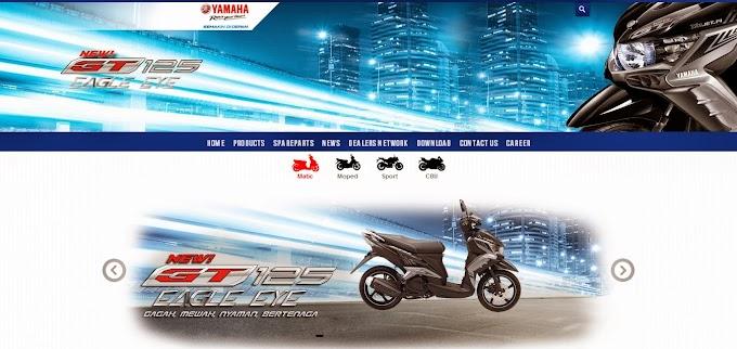 Tampilan Baru Website Resmi Yamaha Indonesia