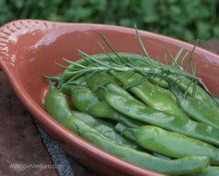 Garlicky Romano Beans