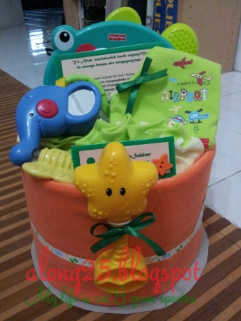 blog along25 diapers cake murah comel baby boy